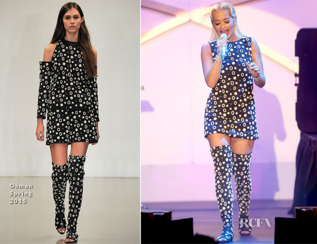 Rita Ora In Osman - 22nd Annual Race to Erase MS Event