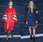 Rita Ora & Olivia Palermo In Tommy Hilfiger - Tommy Hilfiger Boulevard Capucines Boutique Opening