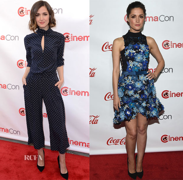 Rose Byrne In Zimmermann & Preen - CinemaCon 2015