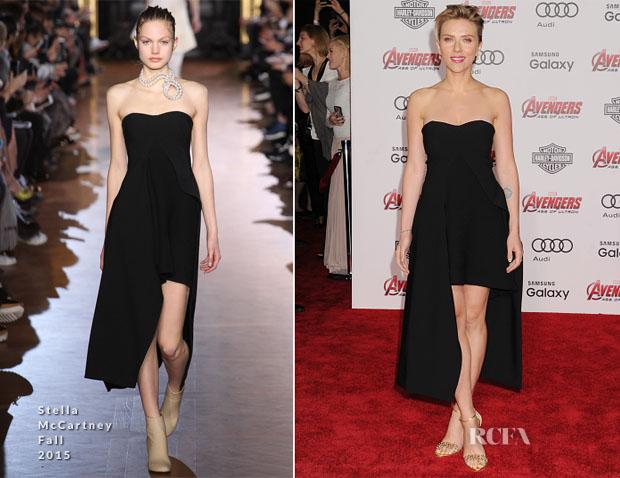 Scarlett Johansson In Stella McCartney -  'Avengers Age Of Ultron' LA Premiere