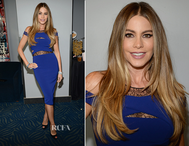 Sofia Vergara In Noam Hanoch - 2015 MTV Movie Awards