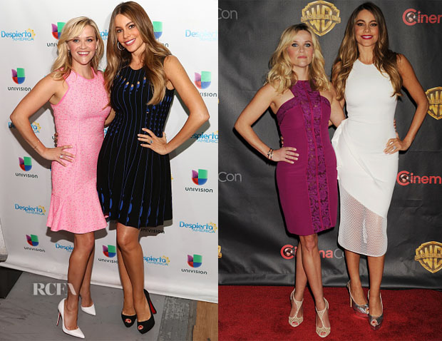 Sofia Vergara & Reese Witherspoon - 'Hot Pursuits' Promo Tour 3