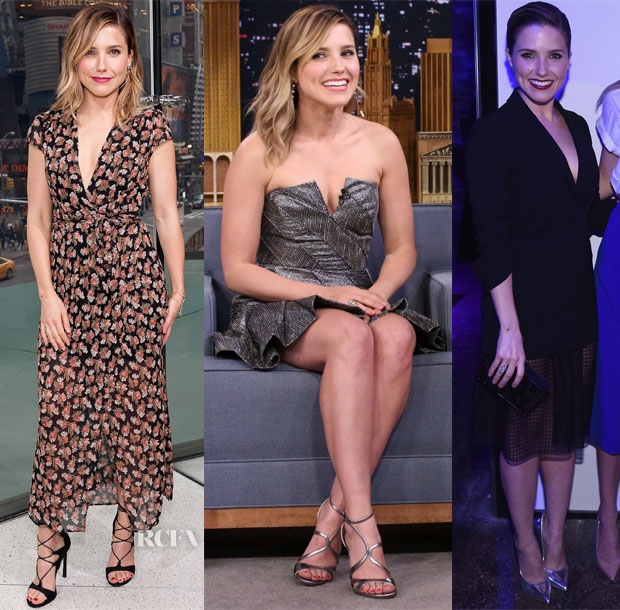 Sophia Bush In Reformation, Zimmerman & Elizabeth and James - Extra, Jimmy Fallon & Samsung Event
