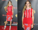 Teresa Palmer In Jonathan Saunders - Warner Bros. Presents The Big Picture