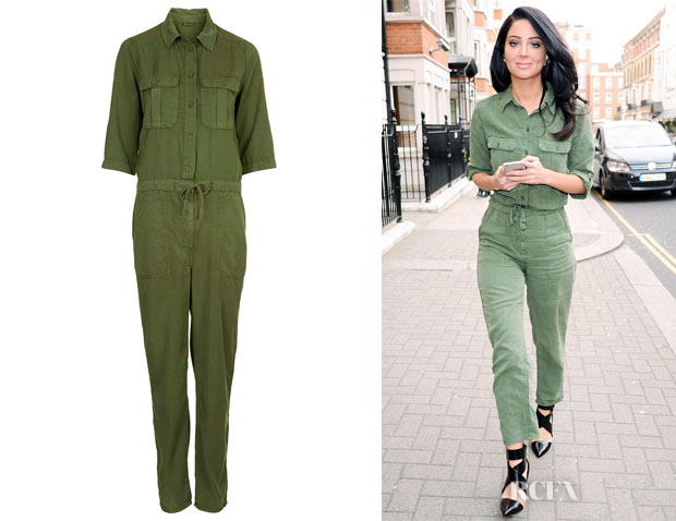 Tulisa Contostavlos' Topshop Utility All-in-One