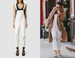 Vanessa Hudgens' All Saints Dungarees
