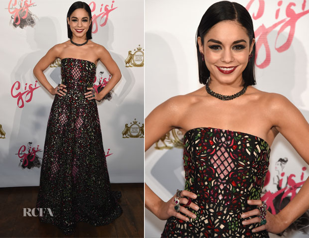 Vanessa Hudgens In Alice + Olivia - 'Gigi' Broadway Opening Night After Party