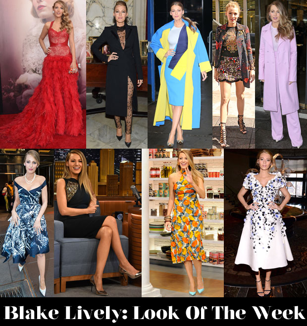 Which Blake Lively Look Would You Like To See Up For BDOTW