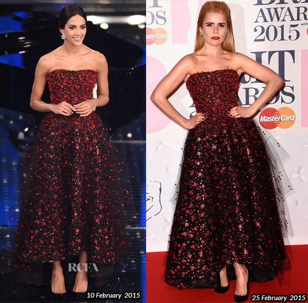 Who Wore Armani Prive Better Rocio Munoz Morales or Paloma Faith