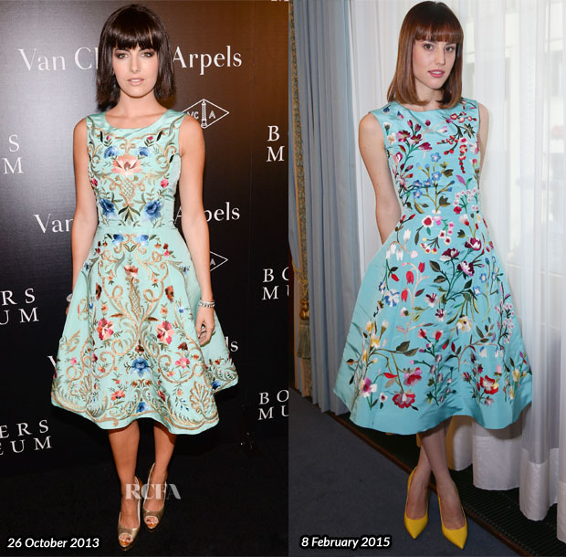 Who Wore Oscar de la Renta Better Camilla Belle or Natalia de Molina