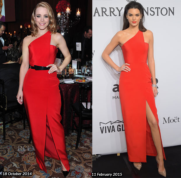 Who Wore Romona Keveza Better Rachel McAdams or Kendall Jenner