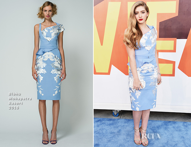 Willow Shields In Bibhu Mohapatra - 2015 MTV Movie Awards
