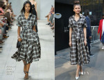 Zendaya Coleman In Michael Kors - Good Morning America