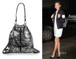 Zendaya Coleman's Elizabeth and James 'Cynnie' Palm-Tree-Print Sling Backpack