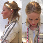 Get The Look: Kate Bosworth's Part Braided Part Bun Coachella Hair Style