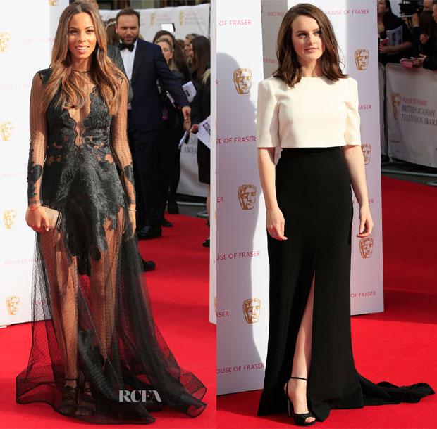 2015 BAFTA TV Awards Red Carpet Roundup 5