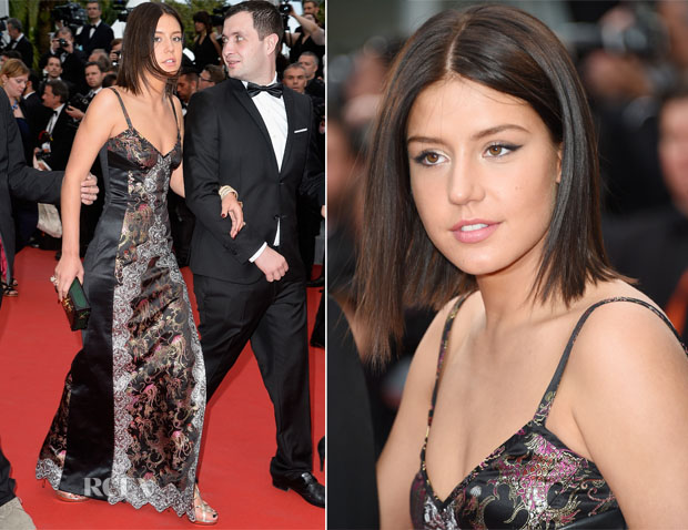 Adèle Exarchopoulos In Louis Vuitton - 'Irrational Man' Cannes Film Festival Premiere
