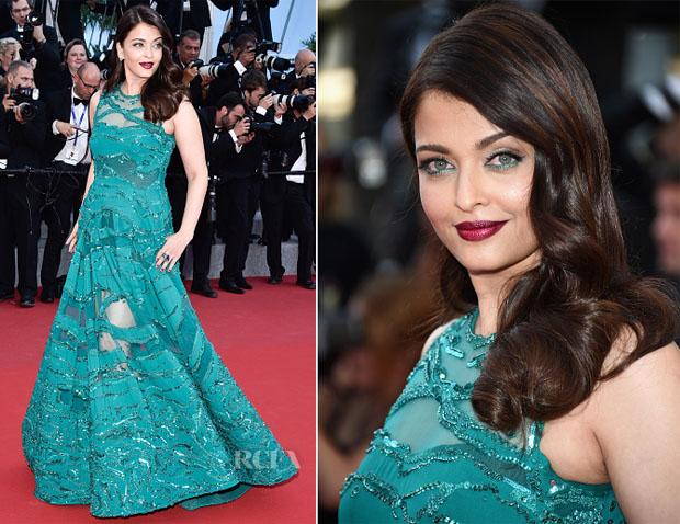 Aishwarya Rai In Elie Saab - 'Carol' Cannes Film Festival Premiere