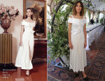 Alexa Chung In Alessandra Rich - Piaget Celebrates Its New Possession Collection