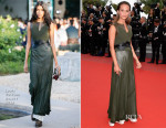 Alicia Vikander In Louis Vuitton - 'Sicario' Cannes Film Festival Premiere