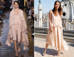 Alicia Vikander In Stella McCartney - 'The Man From U.N.C.L.E.' Rome Photocall
