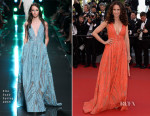 Andie MacDowell In Elie Saab - 'Inside Out' Cannes Film Festival Premiere