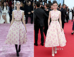 Angelababy In Christian Dior Couture -  'La Tete Haute' Cannes Film Festival Premiere & Opening Ceremony