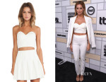 Ashley Tisdale's Lovers + Friends 'Mad About You' Bustier