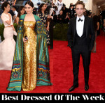 Best Dressed Of The Week - Fan Bingbing In Christopher Bu & Robert Pattinson in Dior Homme