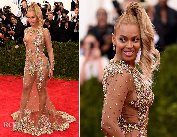 Beyonce In Givenchy Couture - 2015 Met Gala