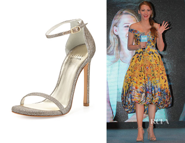 Blake Lively's Stuart Weitzman 'Nudist' Sandals