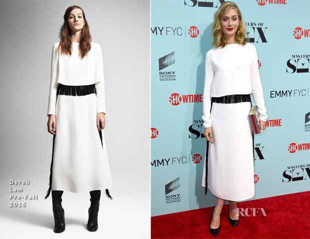 Caitlin Fitzgerald In Derek Lam - 'Masters Of Sex' LA Screening