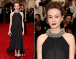 Carey Mulligan In Balenciaga - 2015 Met Gala