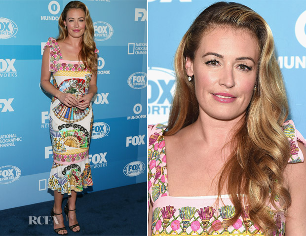 Cat Deeley In Dolce & Gabbana -  2015 FOX Programming Presentation