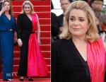 Catherine Deneuve In Jean Paul Gaultier Couture -  'La Tete Haute' Cannes Film Festival Premiere & Opening Ceremony