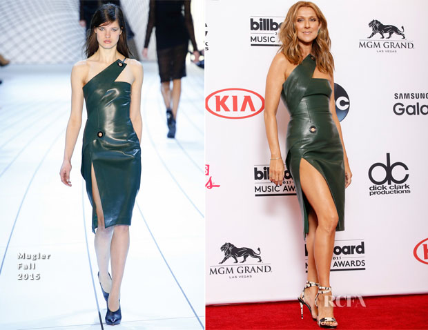 Celine Dion In Mugler - 2015 Billboard Music Awards
