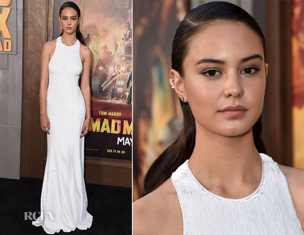 Courtney Eaton In Michael Kors - 'Mad Max Fury Road' LA Premiere