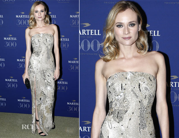Diane Kruger In Jason Wu - Martell Cognac Celebrates Its 300th Anniversary