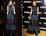 Elizabeth Banks In Elie Saab - 'Pitch Perfect' London Premiere