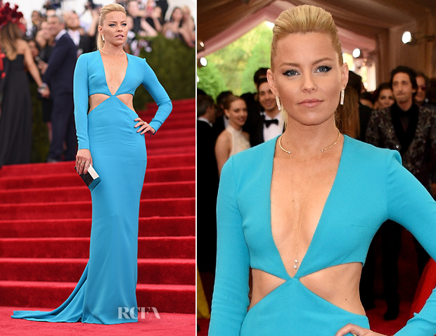 Elizabeth Banks In Michael Kors - 2015 Met Gala