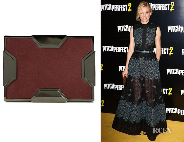 Elizabeth Banks' Lee Savage 'Space' Box Clutch