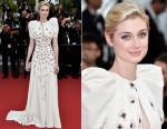 Elizabeth Debicki In Giambattista Valli Couture - 'Macbeth' Cannes Film Festival Premiere