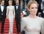 Emily Blunt In Stella McCartney - 'Sicario' Cannes Film Festival Premiere
