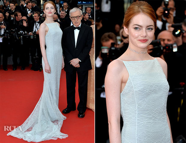 Emma Stone In Christian Dior Couture - 'Irrational Man' Cannes Film Festival Premiere