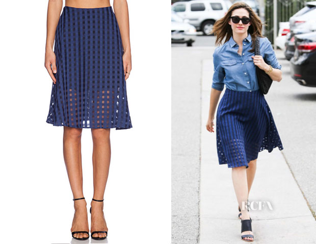 Emmy Rossum's NBD 'Jupe Right Now' Skirt