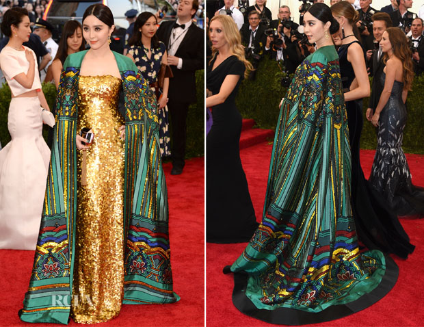 Fan Bingbing In Chris by Christopher Bu - 2015 Met Gala
