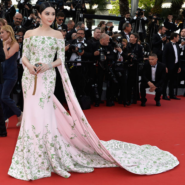 fan bingbing in ralph russo couture la tete haute cannes film festival premiere opening. Black Bedroom Furniture Sets. Home Design Ideas