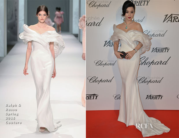 Fan Bingbing In Ralph and Russo Couture -  Trophée Chopard