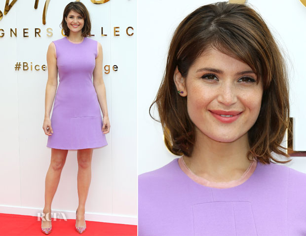 Gemma Arterton In Roksanda - British Designer Collective Press Launch