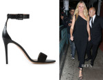 Gwyneth Paltrow's Tory Burch Ankle Strap Stiletto Sandals